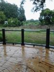 deck rails painted